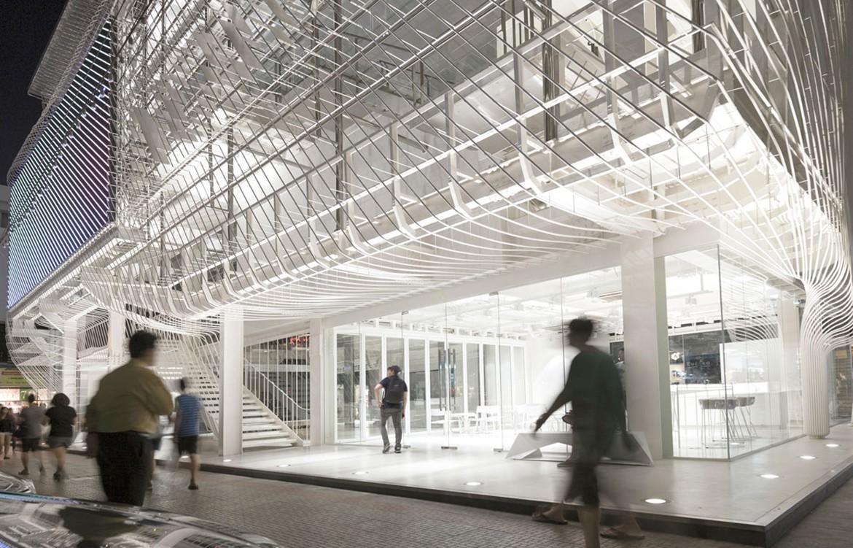 Architectkidd Entrance Corner Luke Yeung