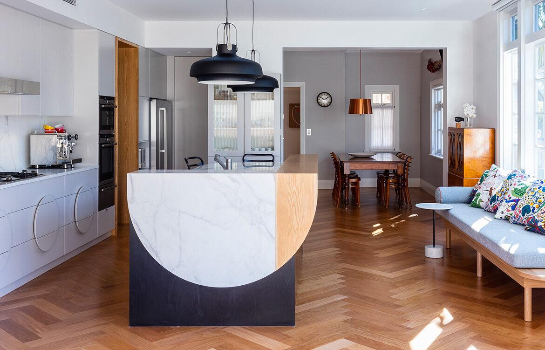 Arent&Pyke Croydon House kitchen dining