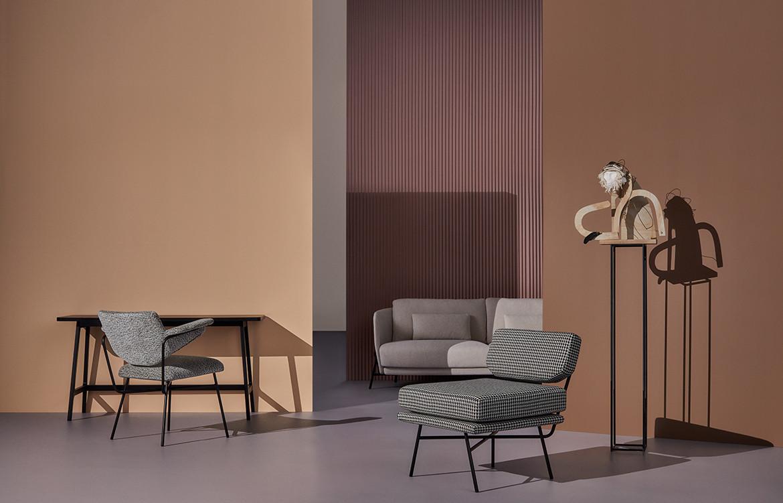 Arflex Australian Art Italian Design Australia 2019 Campaign design details beige pink