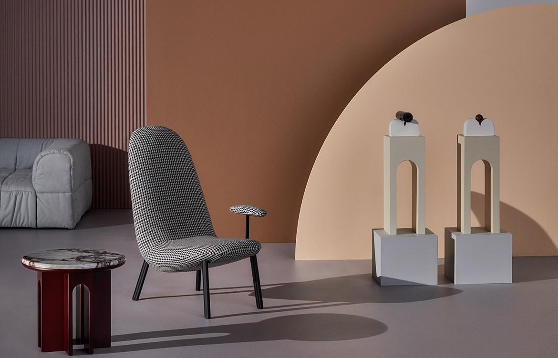 Arflex Australian Art Italian Design Australia 2019 Campaign design chair beige