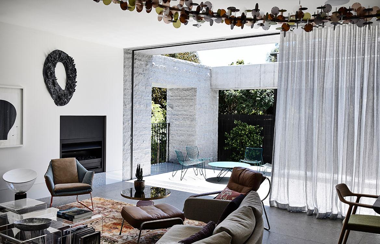 Armadale Residence B.E Architecture cc Derek Swalwell indoor outdoor