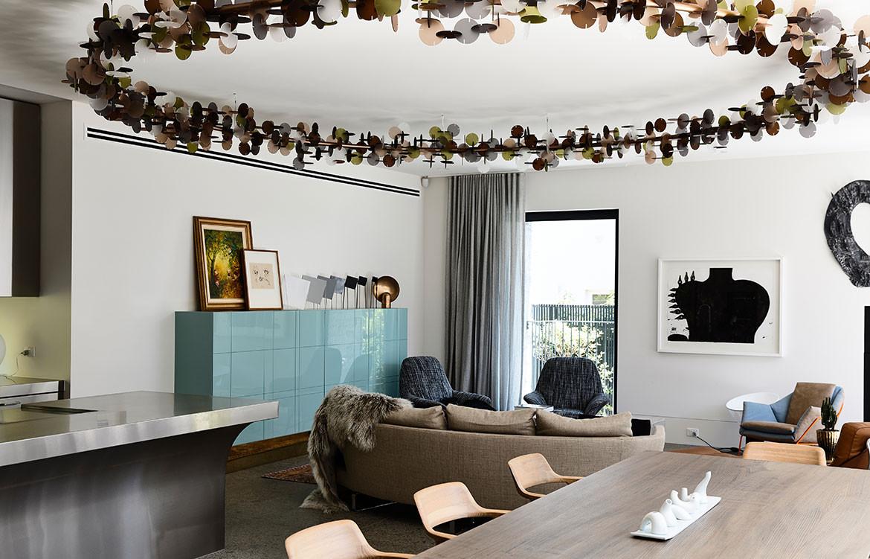 Armadale Residence B.E Architecture cc Derek Swalwell living dining kitchen