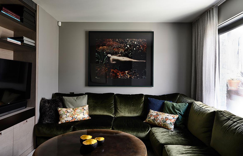 Armadale Residence B.E Architecture cc Derek Swalwell media room