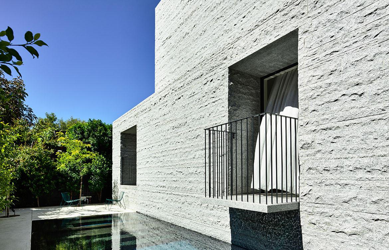 Armadale Residence B.E Architecture cc Derek Swalwell pool balcony