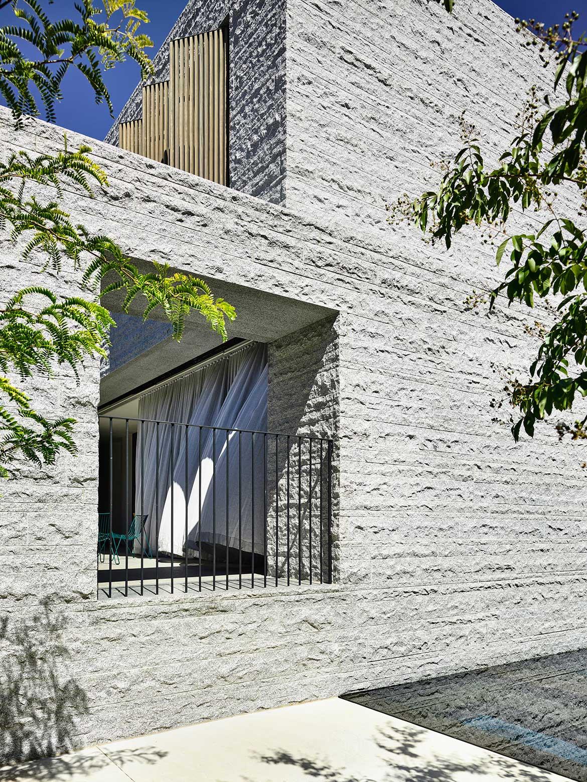 Armadale Residence B.E Architecture cc Derek Swalwell texture