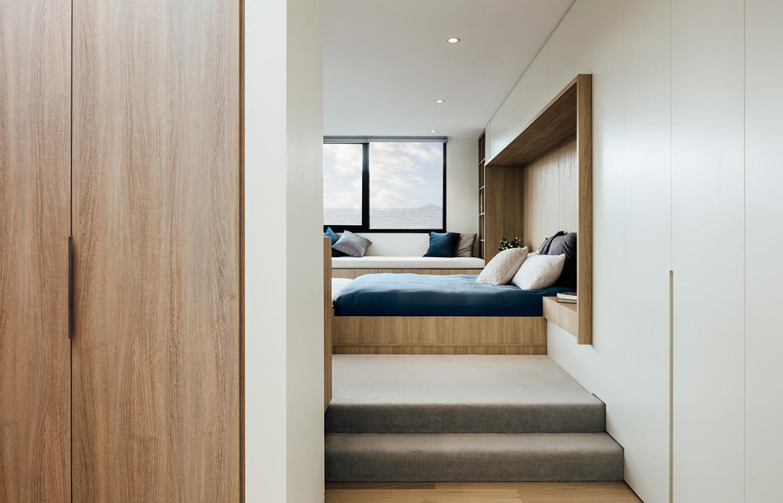 Armadale Residence Pleysier Perkins cc Michael Kai bedroom
