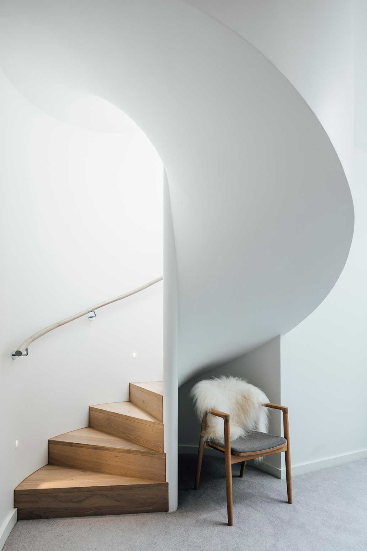 Armadale Residence Pleysier Perkins cc Michael Kai staircase