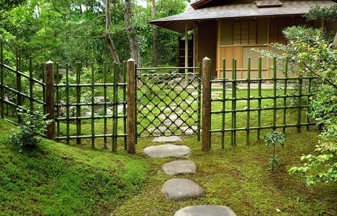 Asian style fence designs