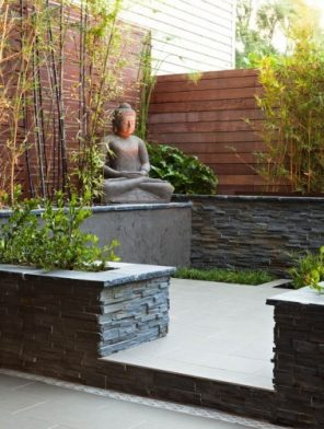 Asian landscaping design ideas shrine