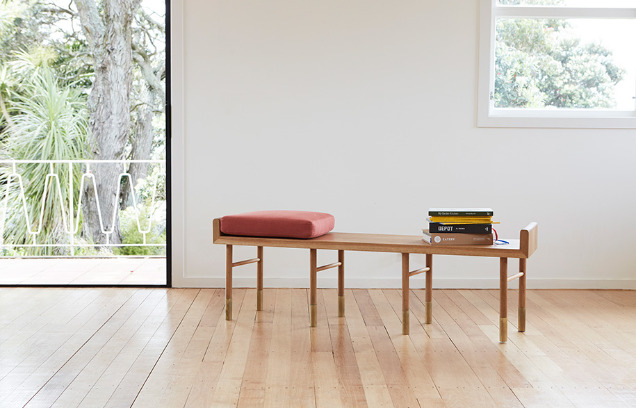 Aspect bench styled Room By Room