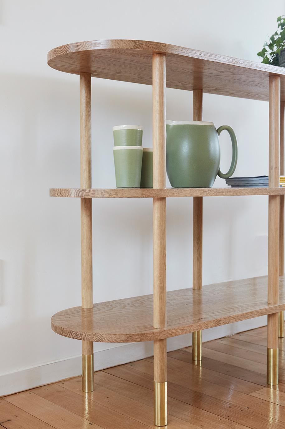 Aspect shelves close Room By Room