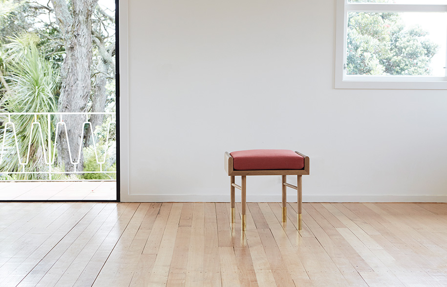 Aspect stool cushion Room By Room