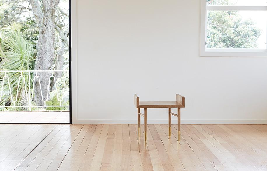 Aspect stool no cushion Room By Room