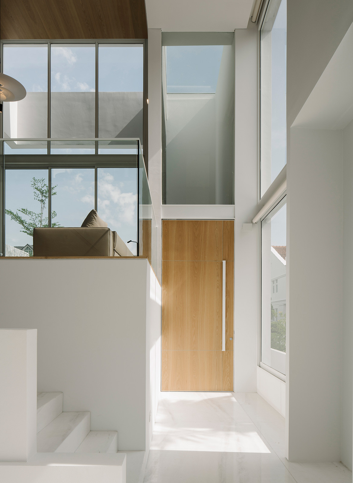 Assembled House Park + Associates Semi Detached Housecc Studio Periphery window openings