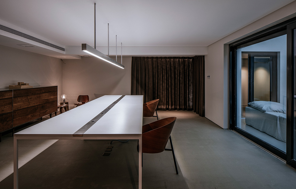 Atelier About Architecture House W dining room