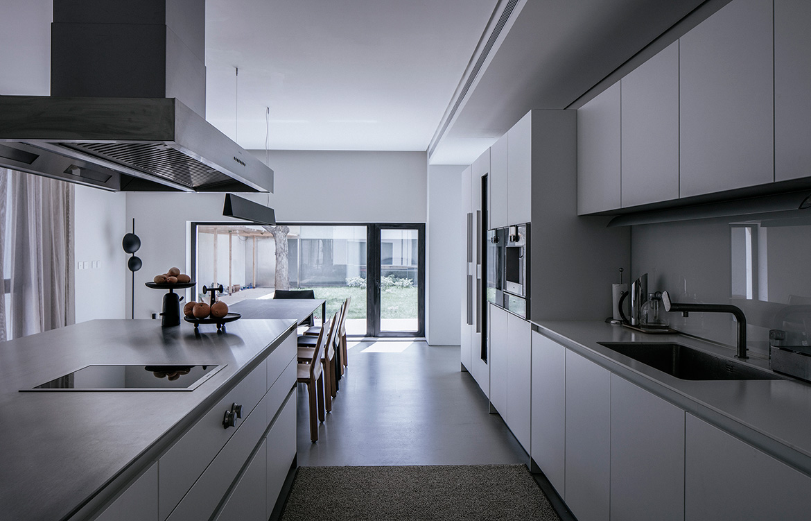Atelier About Architecture House W kitchen