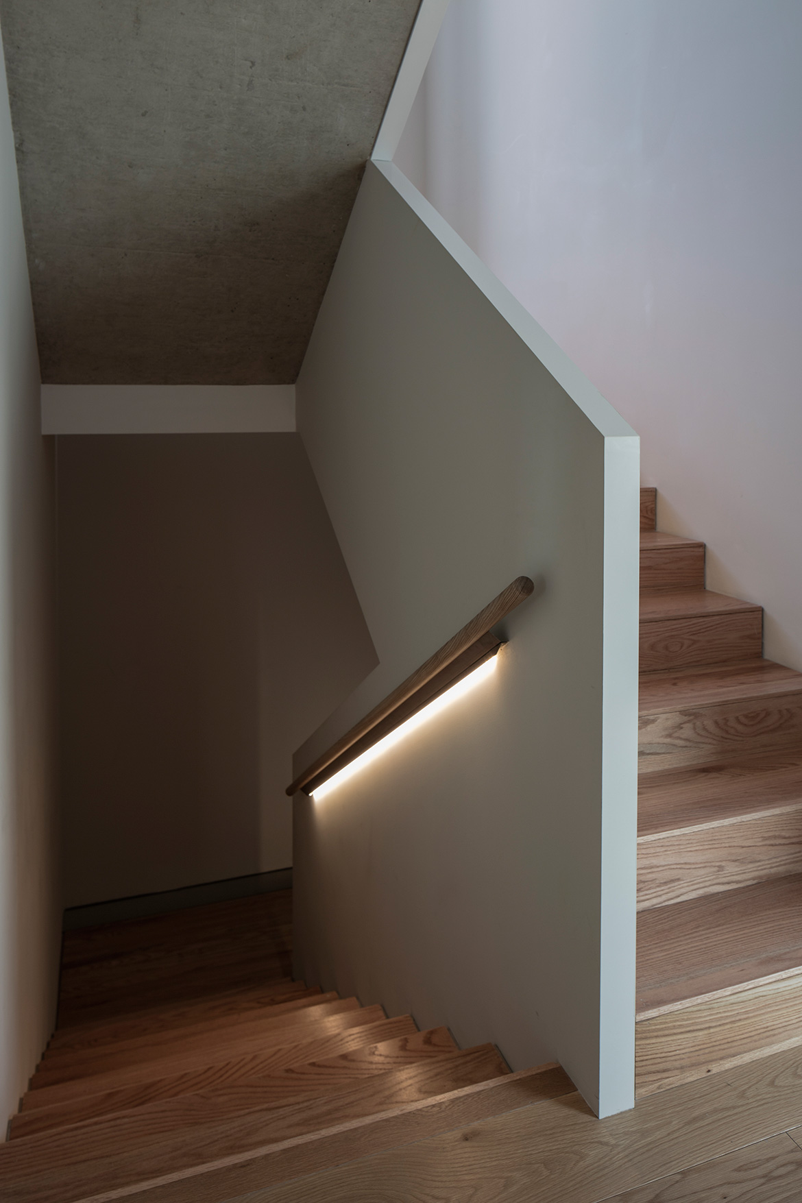 Atelier About Architecture House W staircase