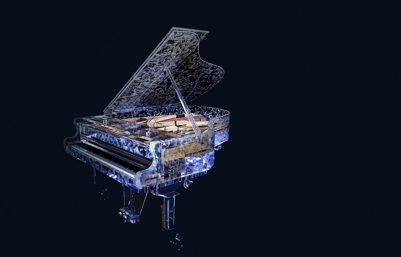 Acrylic Couture Piano