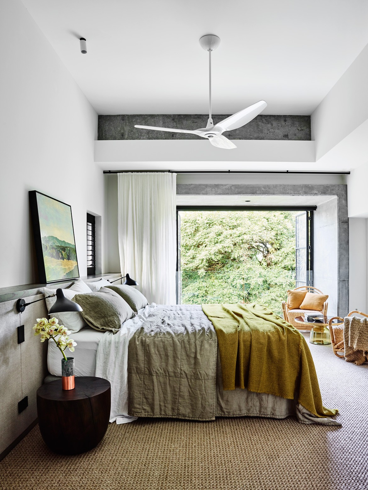 Australian Beach House Photography by Anson Smart Bedroom