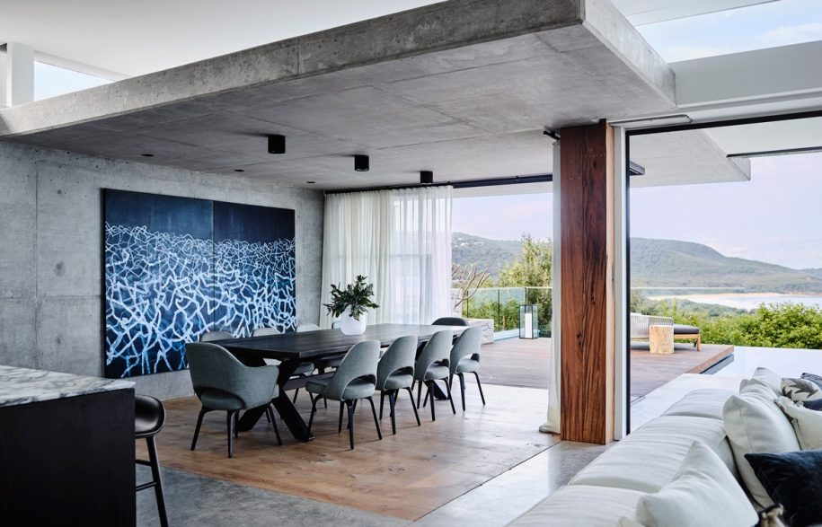 Australian Beach House Photography by Anson Smart Dining room