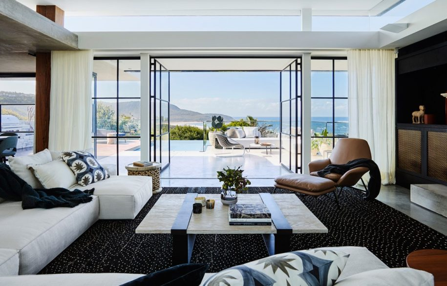 Australian Beach House Photography by Anson Smart Lounge room