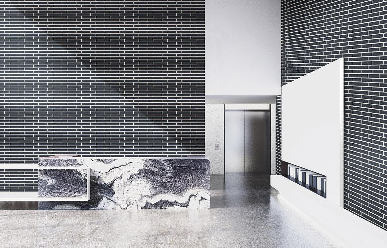 Avante PGH Bricks & Pavers Foyer Nero