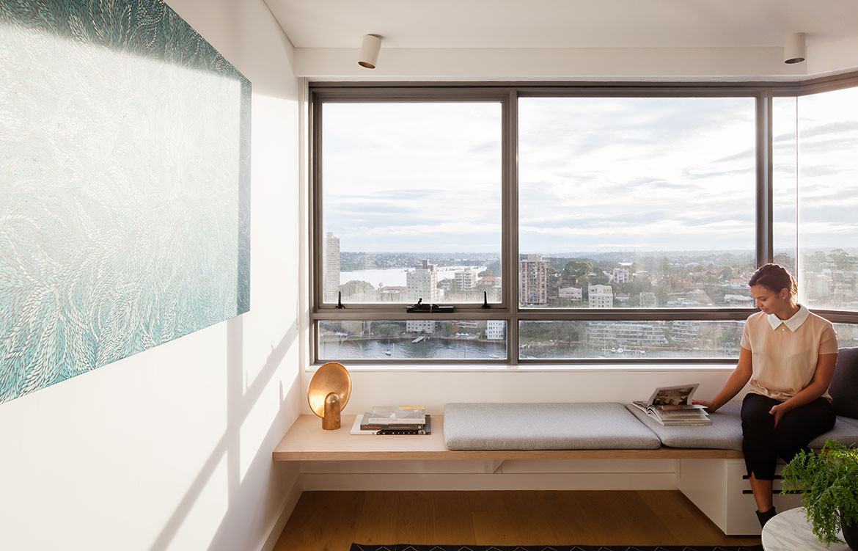 Brad Swartz Architects Milsons Point Apartment cc Katherine Lu