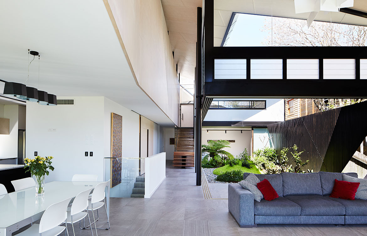 Bardon House Bureau Proberts living space