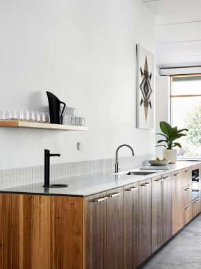 Sustainable design collaborations | Barkley Street Collective contemporary kitchen design by Cantilever Interiors and Hip V Hype