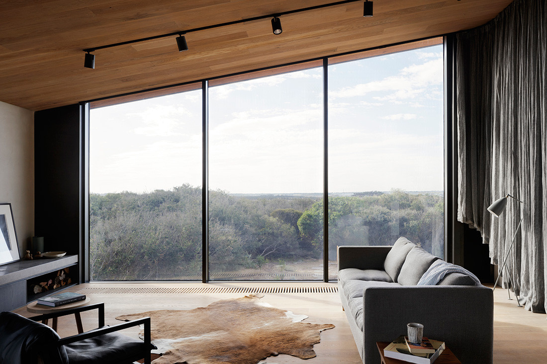 Barwon Heads House Lovell Burton Architecture CC Rory Gardiner living views
