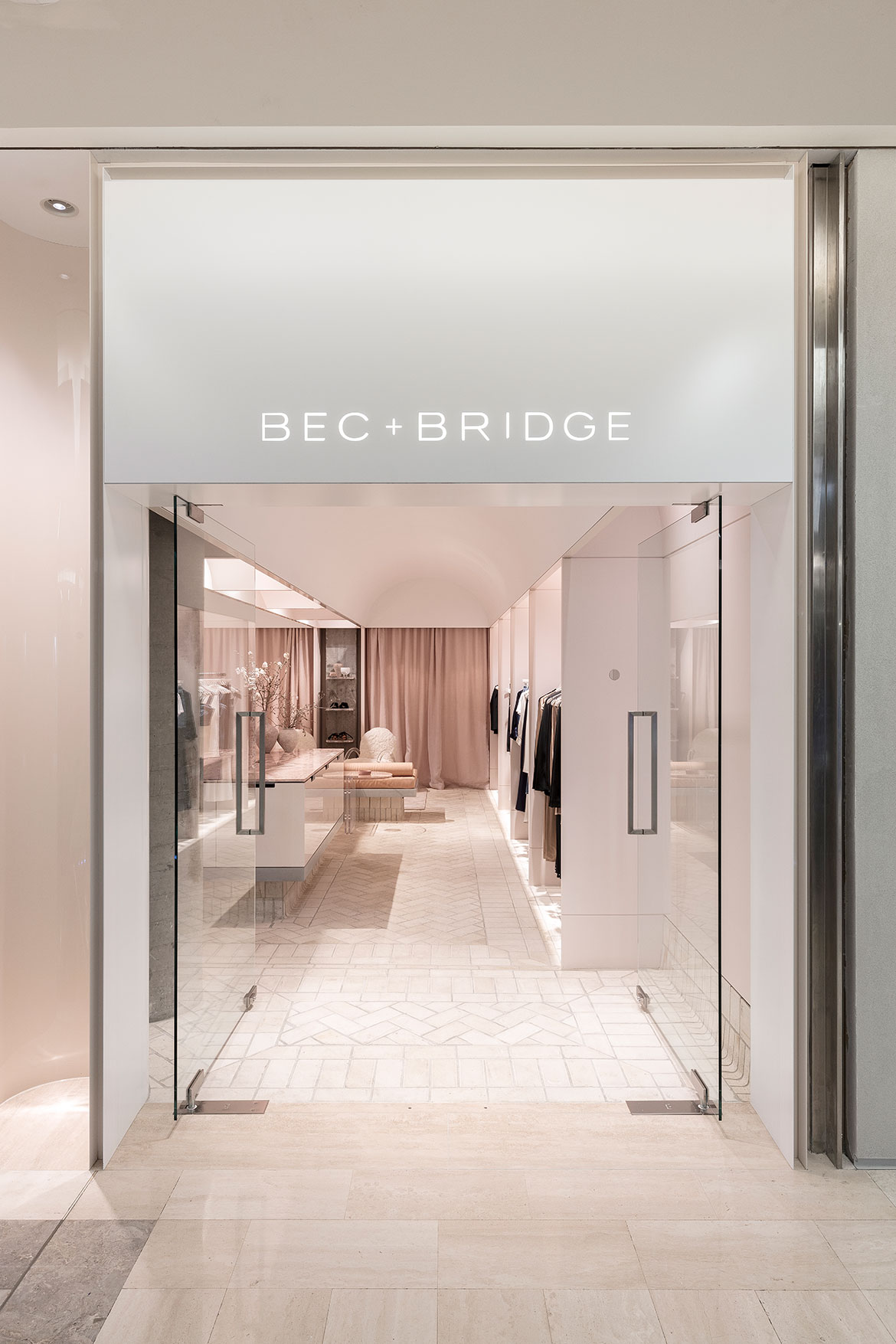 Bec+Bridge Bondi Junction George Livissianis door