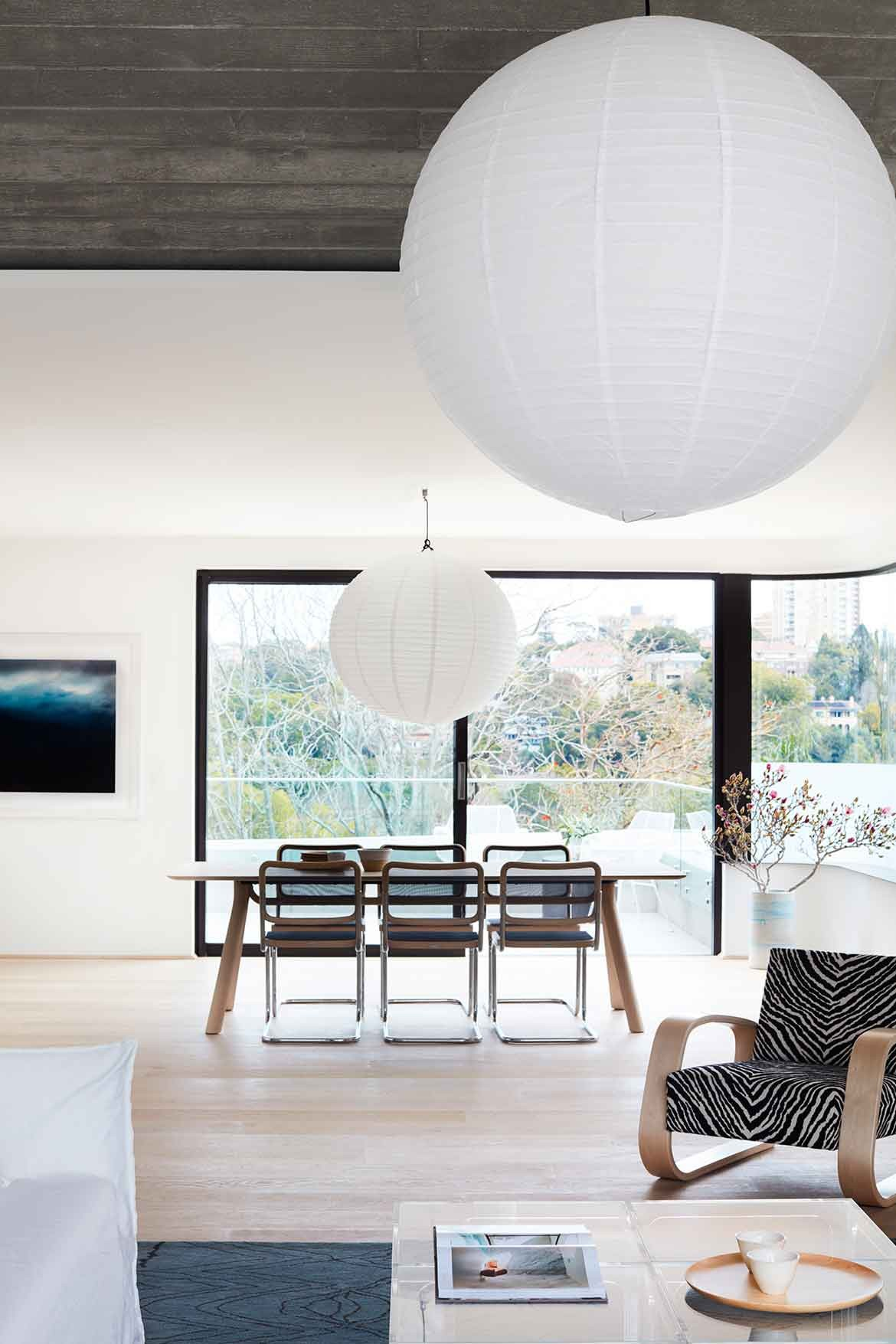 Bellevue Hill Apartments Photography by Prue Roscoe dining table
