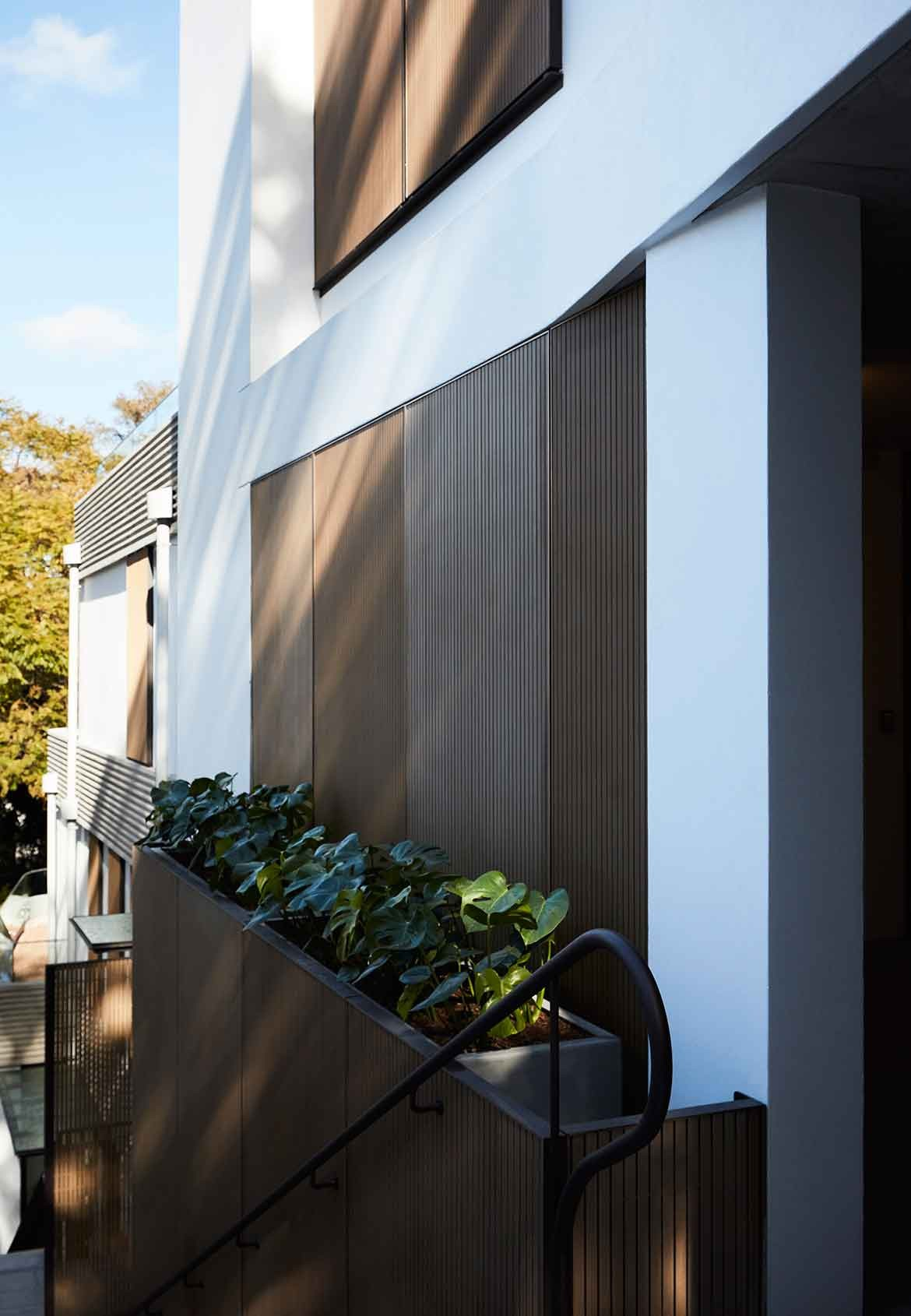 Bellevue Hill Apartments Photography by Prue Roscoe exterior details