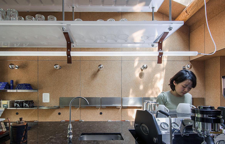 Big Small Coffee Office AIO barista bar view