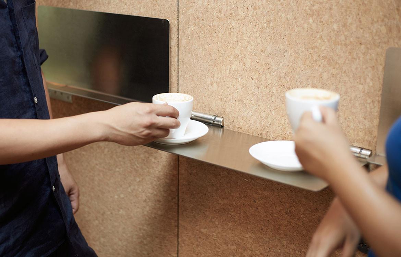 Big Small Coffee Office AIO flip board bar