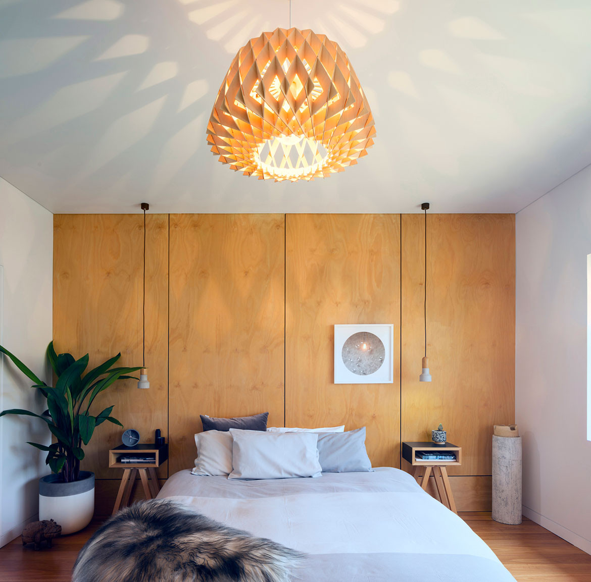 Binary House Christopher Polly Architect cc Brett Boardman bedroom
