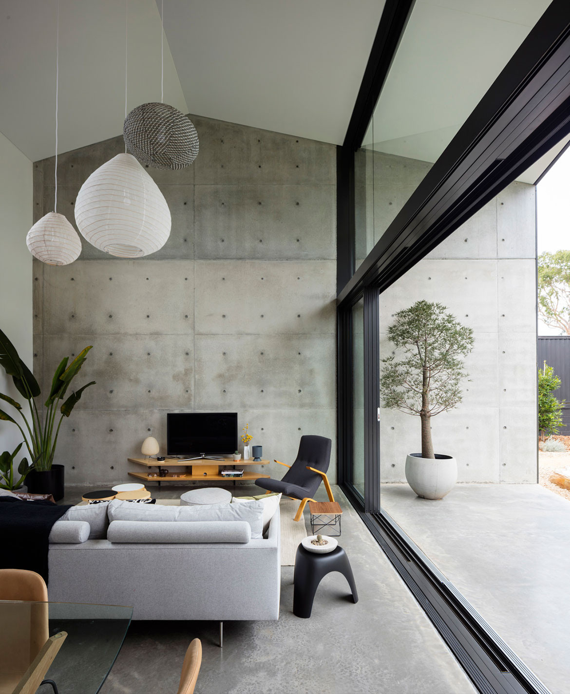 Binary House Christopher Polly Architect cc Brett Boardman outdoor living