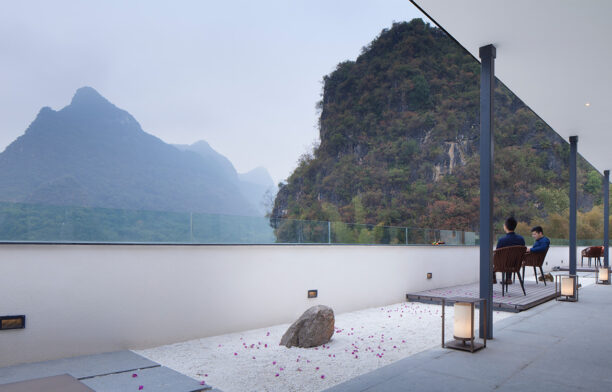 Blossom Dreams Hotel Co Direction Interior Design rooftop terrace