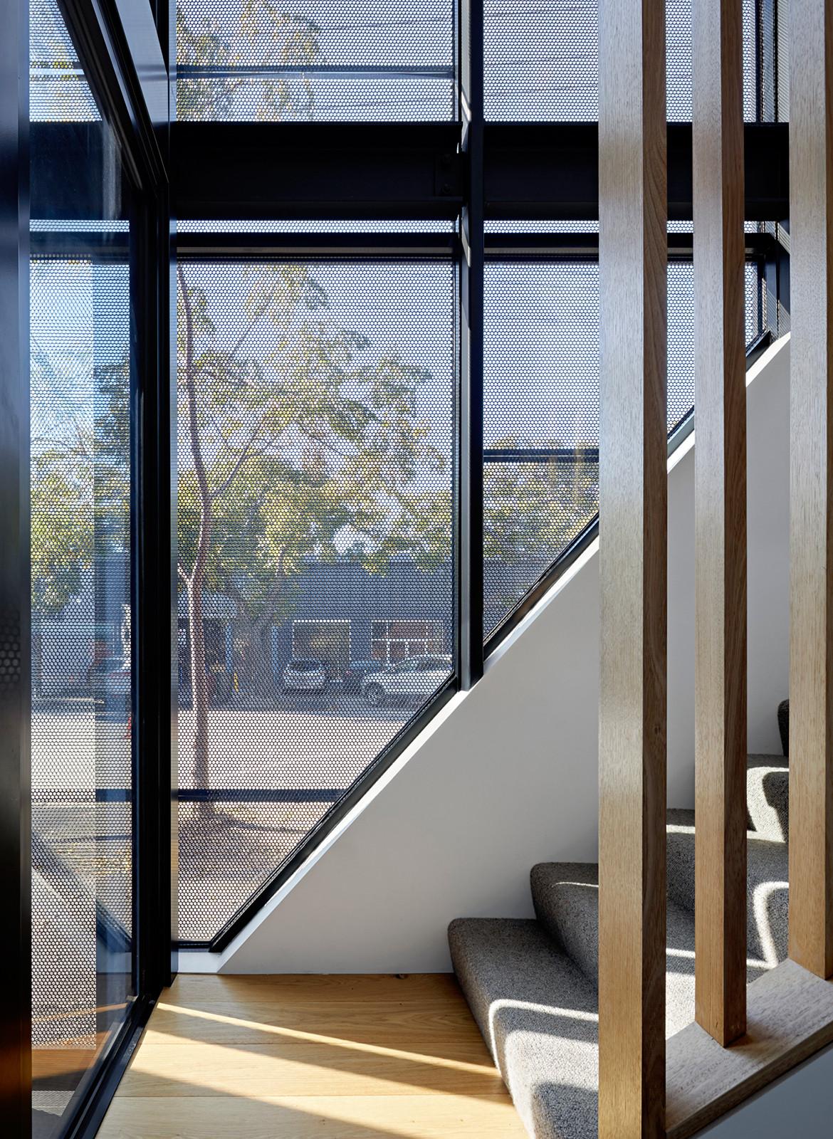 Boundary Street House Chan Architecture CC Tatjana Plitt stairs