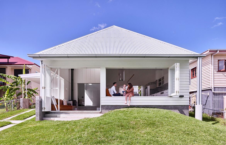 Camp Hill Cottage Owen ArchitectureCC Toby Scott Kitchen Designs