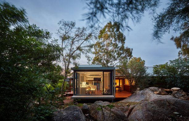 oya House maarch cc Douglas Mark Black exterior