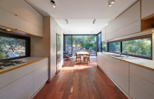 oya House maarch cc Douglas Mark Black kitchen