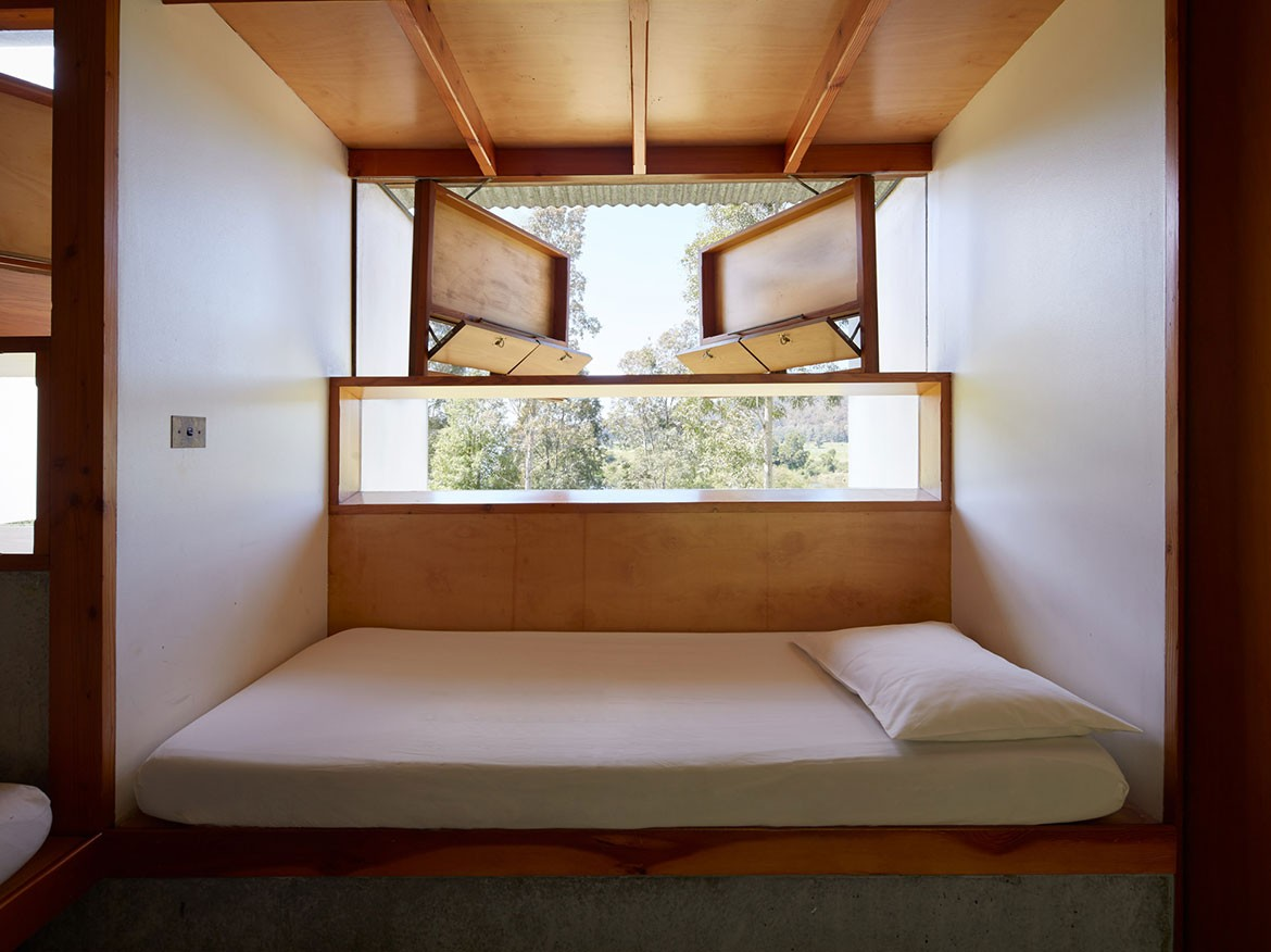 Boyd Education Centre Glenn Murcutt Reg Lark Architect bedroom