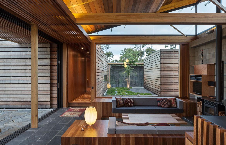Bramasole House Herbst Architects cc Patrick Reynolds inbuilt lounge