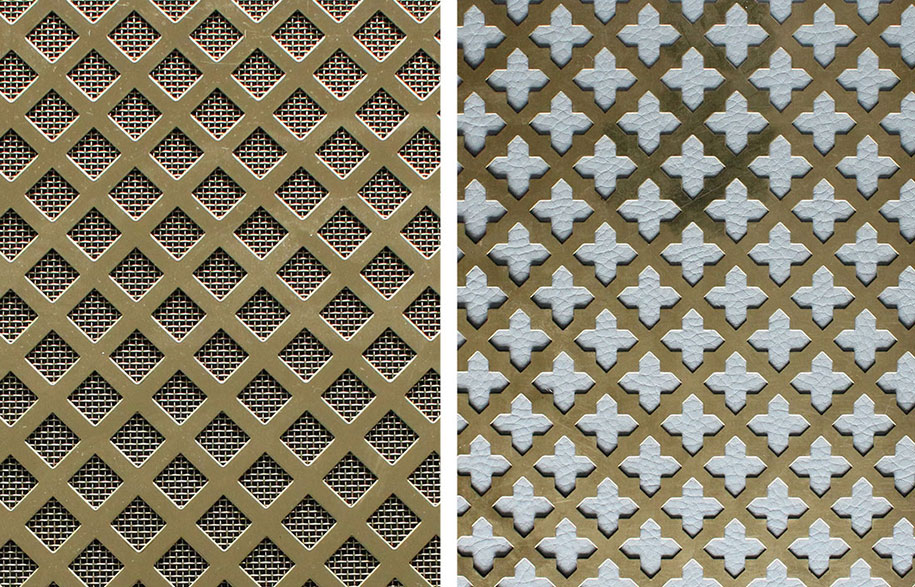 Brass-grilles