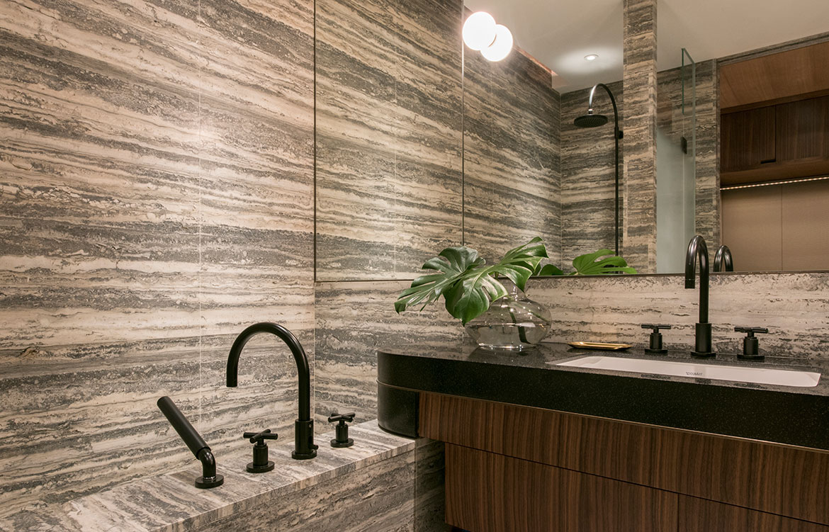 Brewin Design Office Ardmore Apartment bathroom