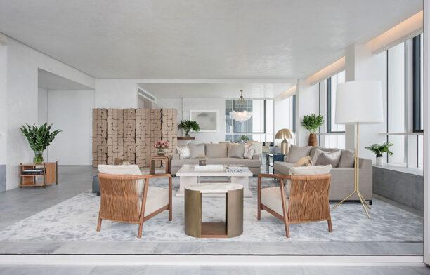Brewin Design Office Ardmore Apartment lounge room