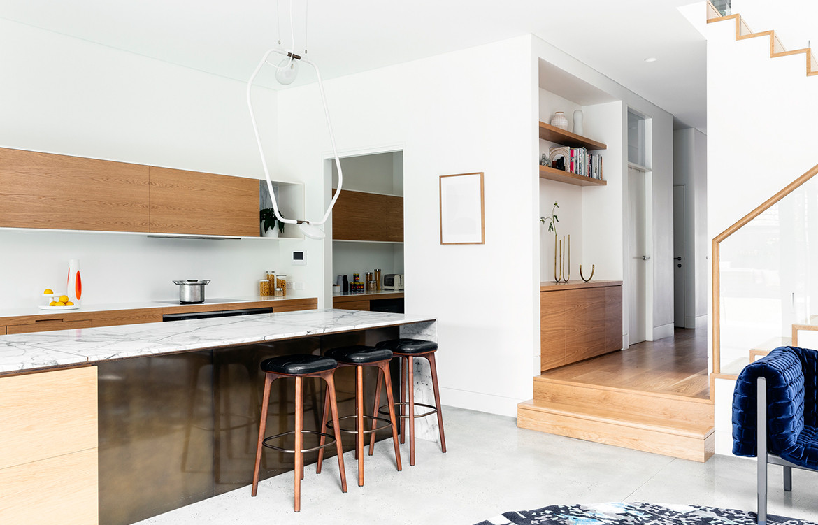 Bronte House Nick Bell Architects CC Tom Ferguson kitchen living