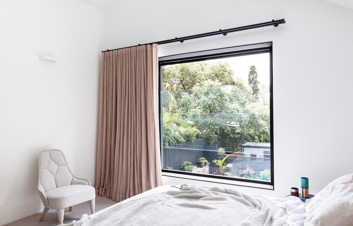 Bronte House Nick Bell Architects CC Tom Ferguson bedroom
