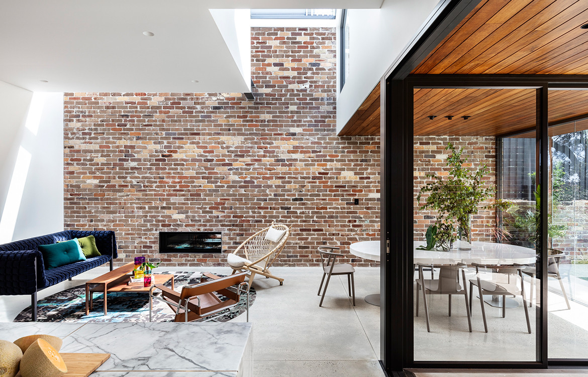 Bronte House Nick Bell Architects CC Tom Ferguson living dining